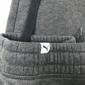 a754b67d4f55 Puma Pants - PUMA Small Pants Gray Cotton Elastic Sweats